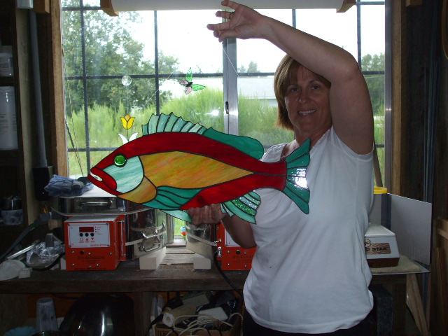cindy and her hubbys fish1.jpg